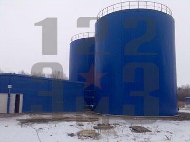 резервуары вертикальные стальные типа РВ